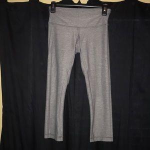 Grey Lululemon Cropped Legging